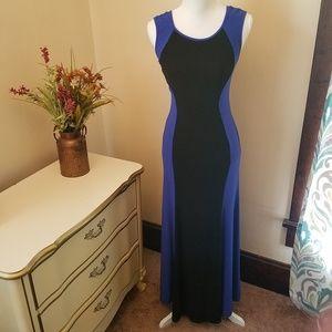 Sleeveless Maxi Dress Curvy Mid Band Size Medium